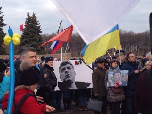 митинг оппозиции памяти немцова