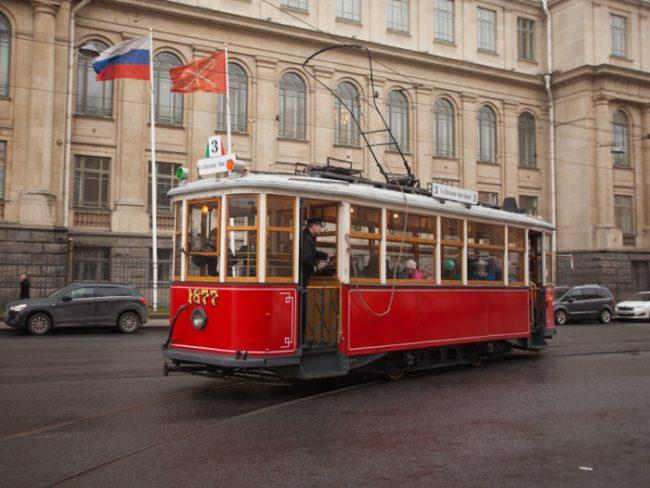 ретро трамвай музей горэлектротранс