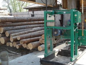 пилорама лес бревна деревообрабатывающий комбинат