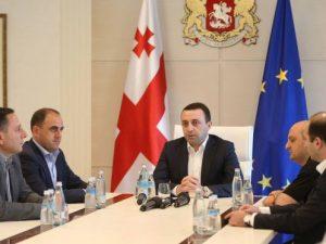 премьер грузии
