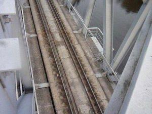 железнодорожный мост через охту