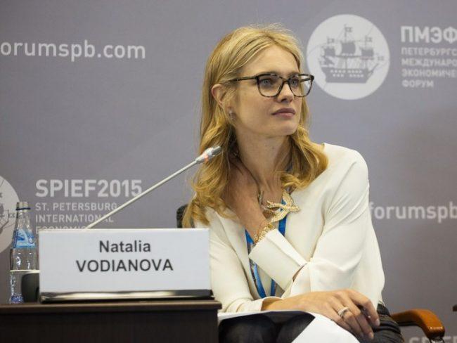 Наталья Водянова пмэф2015