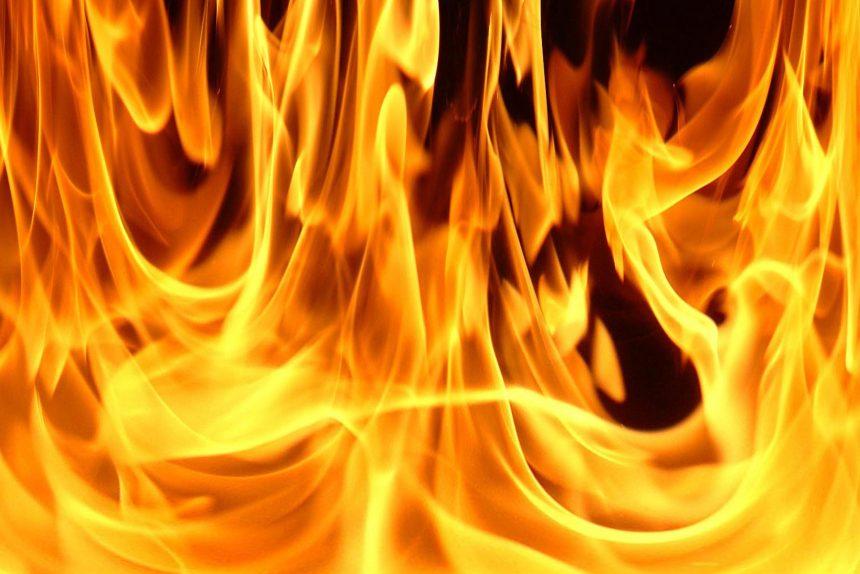 огонь пожар