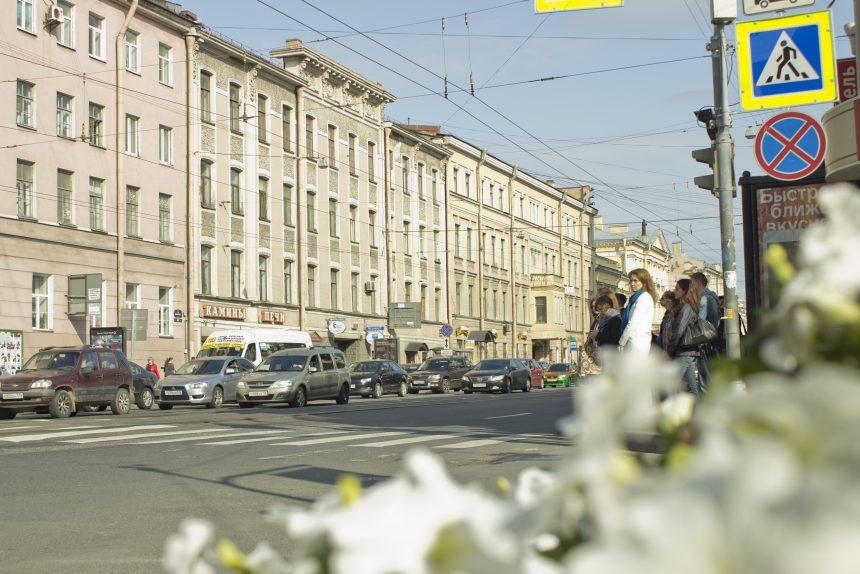 1-я линия машины город петербург васильевский остров