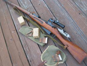 винтовка мосина оружие