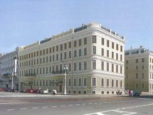план реконструкции дома Мордвиновых, изображение с сайта КГИОП