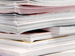пресса газеты журналы брошюры