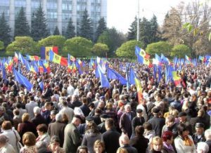 молдова митинг кишинев
