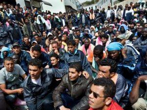 мигранты европа