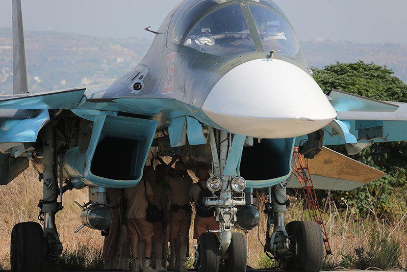 сирийская спецоперация рф самолет бомбардировщик истребитель