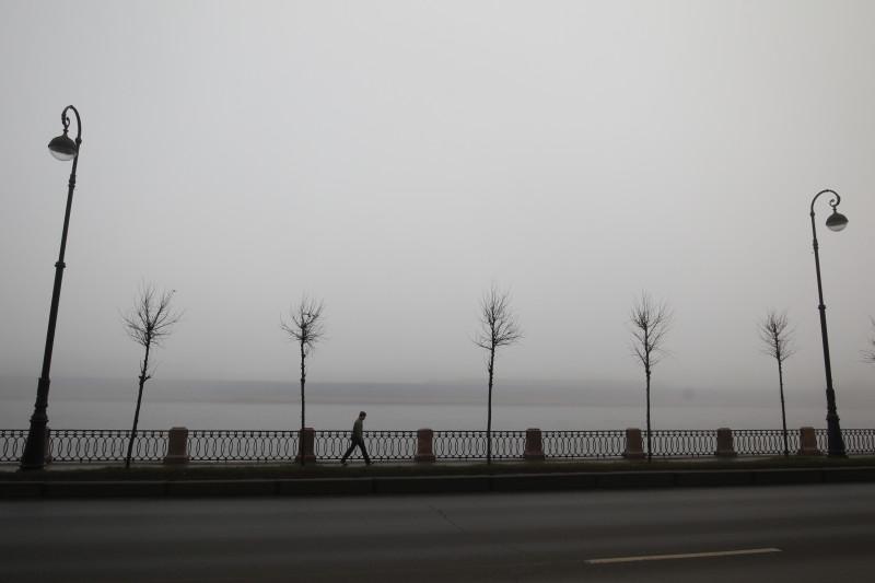 туман петербург