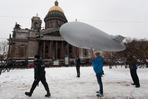 900 блокада небо над ленинградом аэростаты