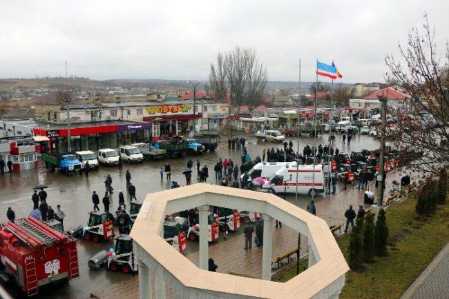 гагаузия гуманитарный груз от петербурга