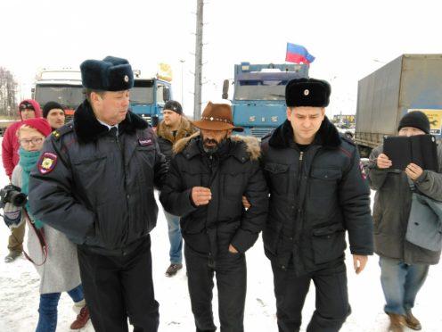Задержание Виктора Гагарина. Фото с сайта mr7.ru