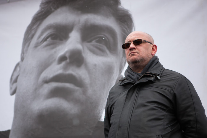 марш митинг памяти бориса немцова максим резник