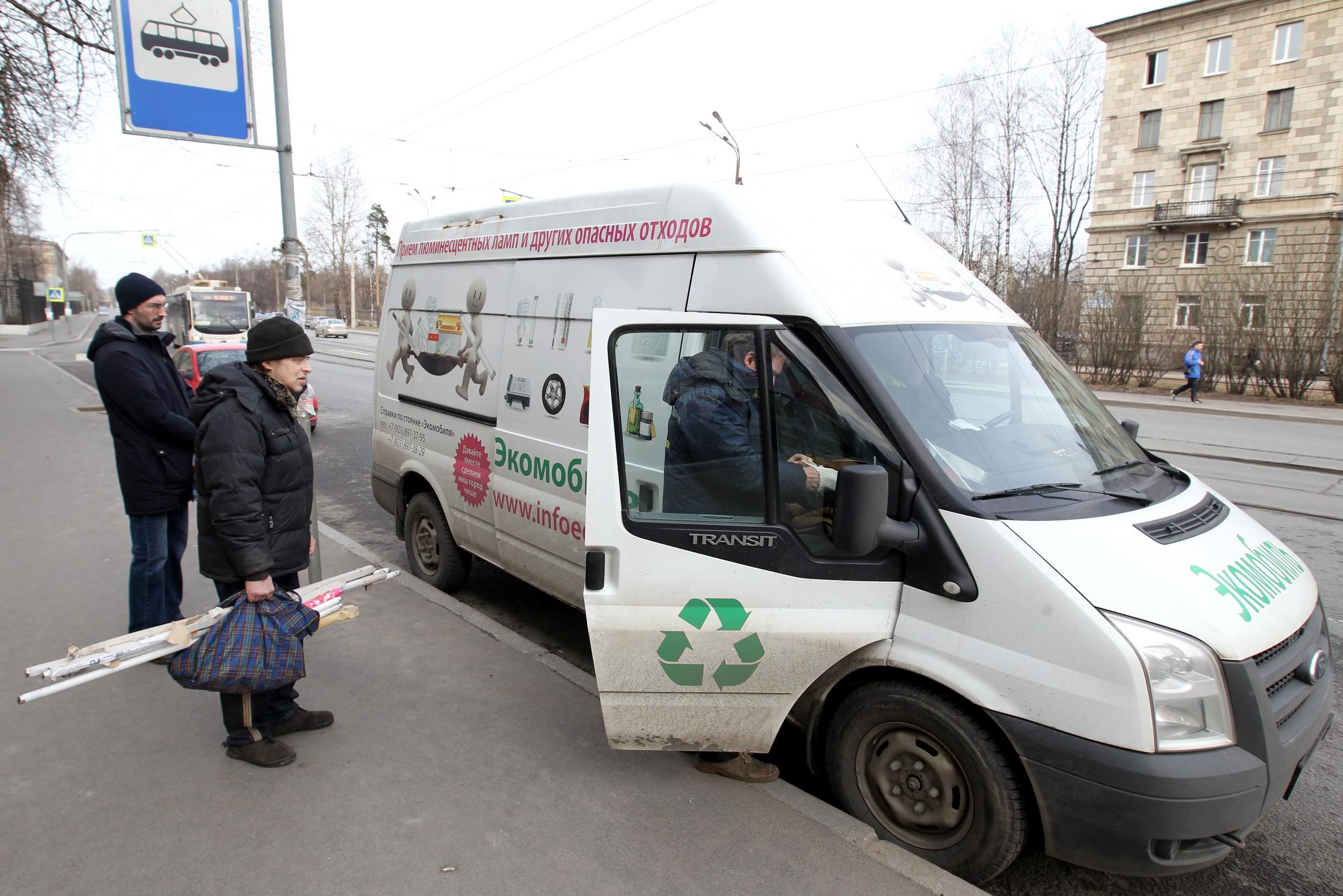"""Экомобиль. Фото: Илья Снопченко / ИА """"Диалог"""""""