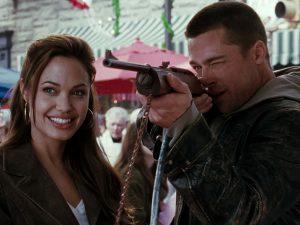 "кадр из фильма ""Мистер и миссис Смит"" (2005) / 20th Century Fox / Summit Entertainment"