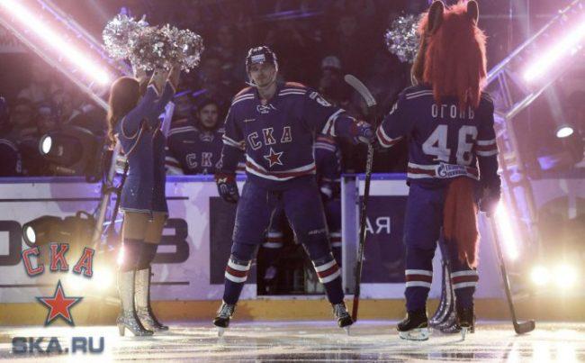 СКА, хоккей, матч