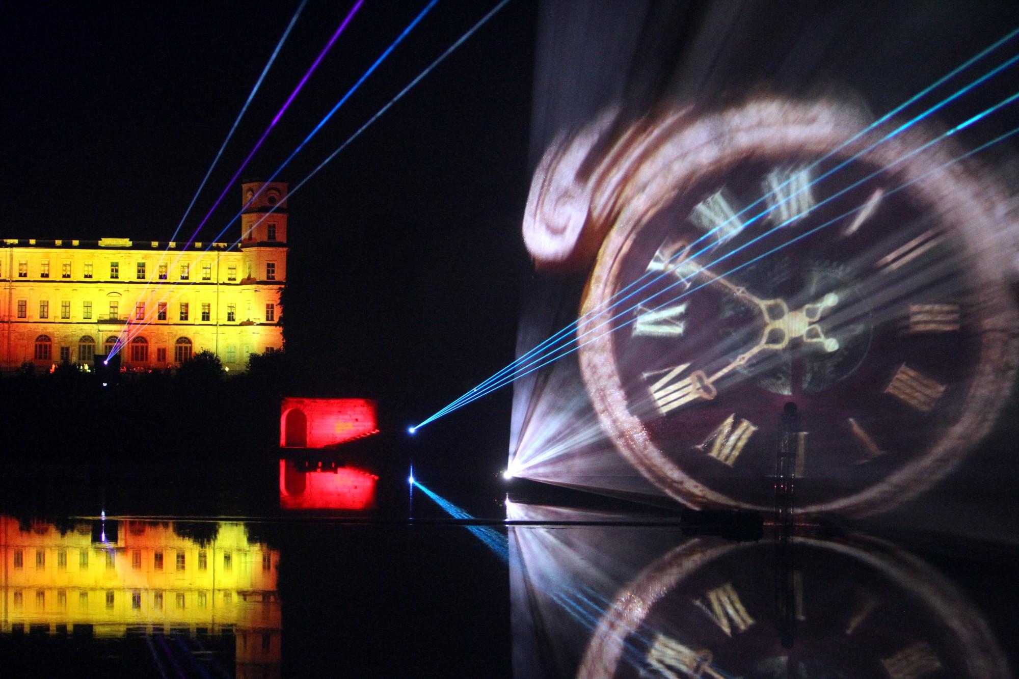 """Фестиваль """"Ночь света"""" в Гатчине. фото: Илья Снопченко / ИА """"Диалог"""""""