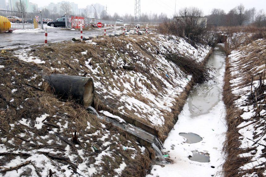 канализация дренаж грязная вода загрязнение окружающей среды экология