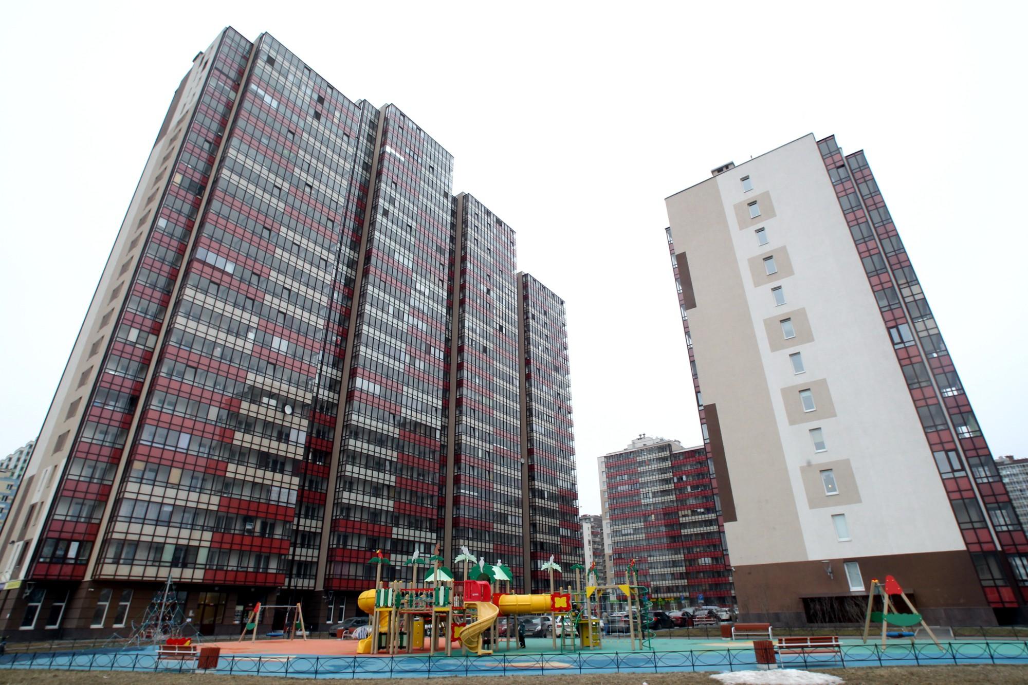 ленинградская область новый оккервиль кудрово новостройки строительство жилые дома квартал вена