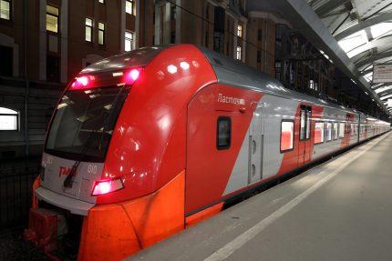 железная дорога железнодорожный транспорт ржд московский вокзал электропоезд электричка ласточка