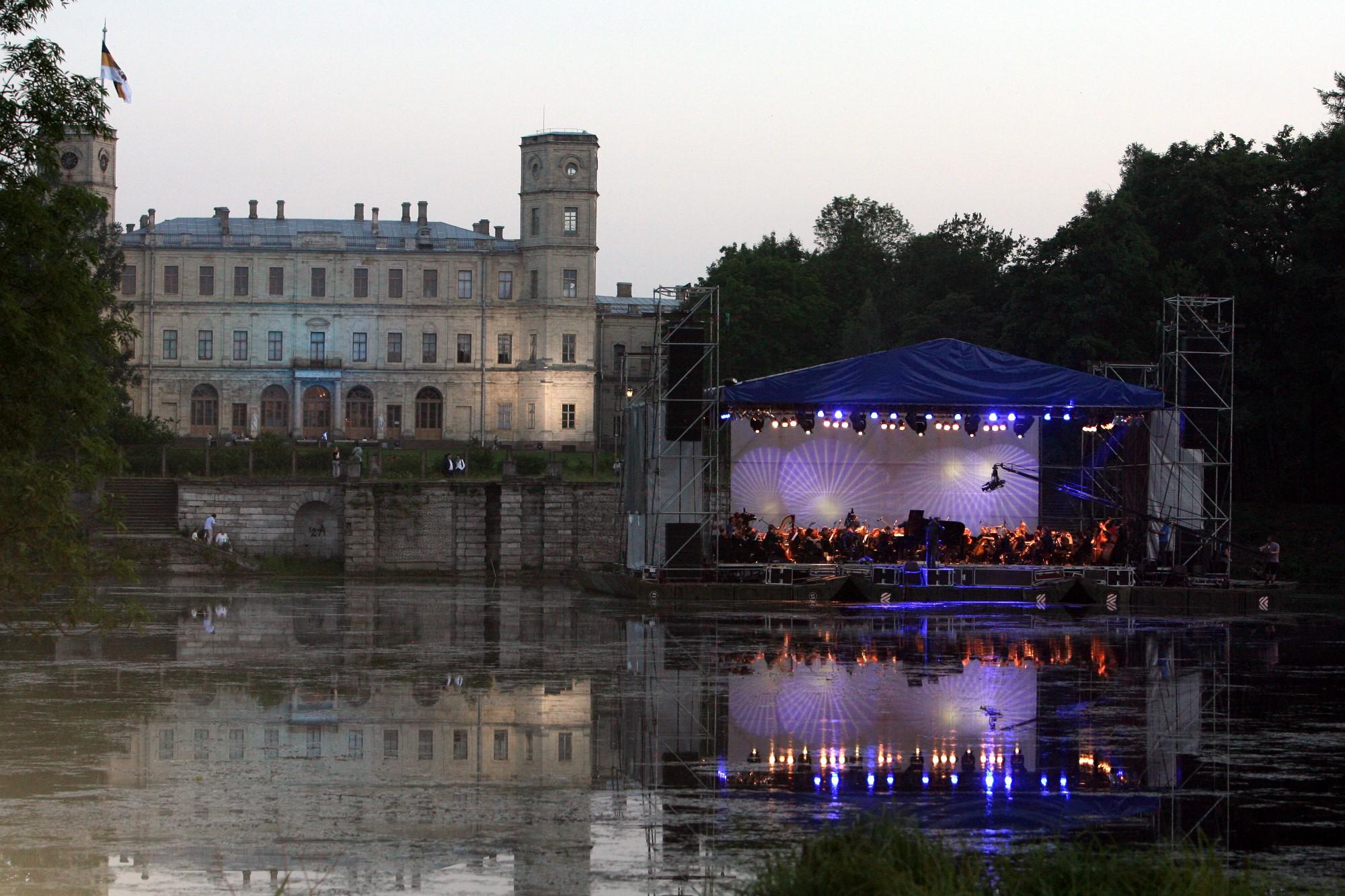 """Фестиваль """"Ночь музыки"""" в Гатчине. Фото: Илья Снопченко / ИА """"Диалог"""""""