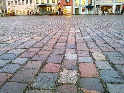 Гранитная крошка в Таллинне. Фото с сайта nn.by