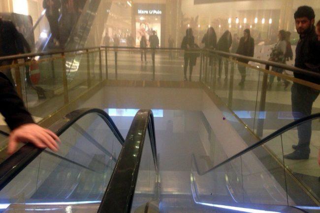 пожар в торговом центре галерея