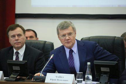 Юрий Чайка, генпрокурор