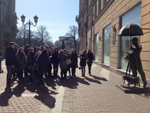 фото пресс-службы Дома молодежи Петербурга