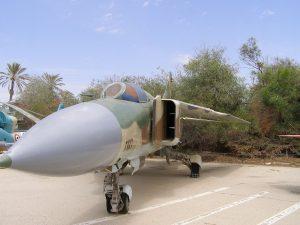 МиГ-23 ВВС Сирии, захваченный Израилем. Фото с сайта wikipedia.org