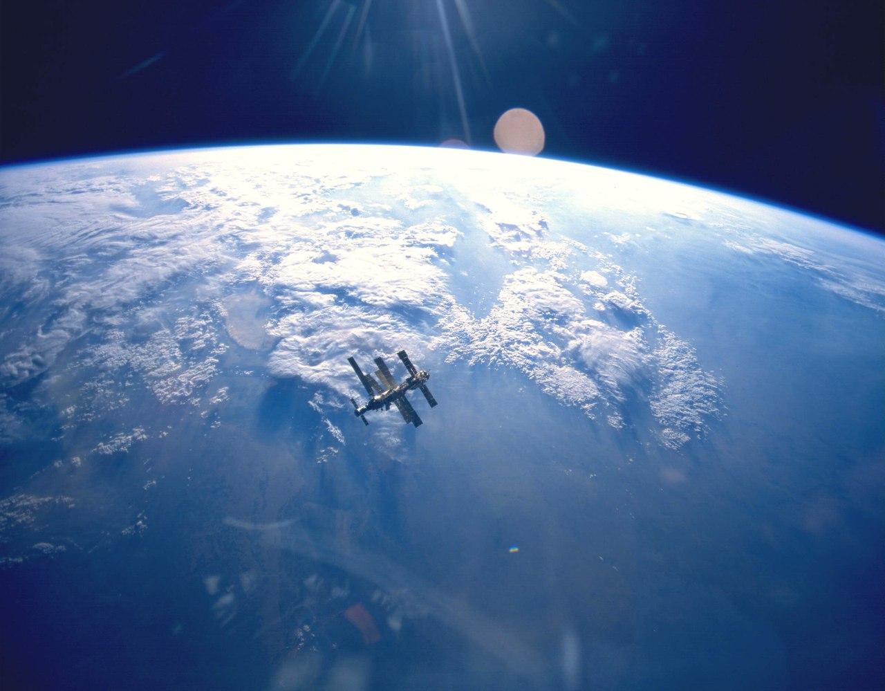 космос планета земля