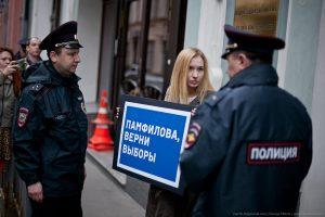 фбк пикет центральная избирательная комиссия цик