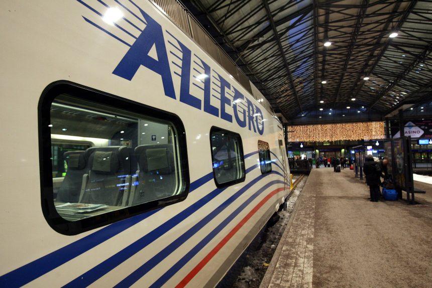 поезд аллегро петербург хельсинки