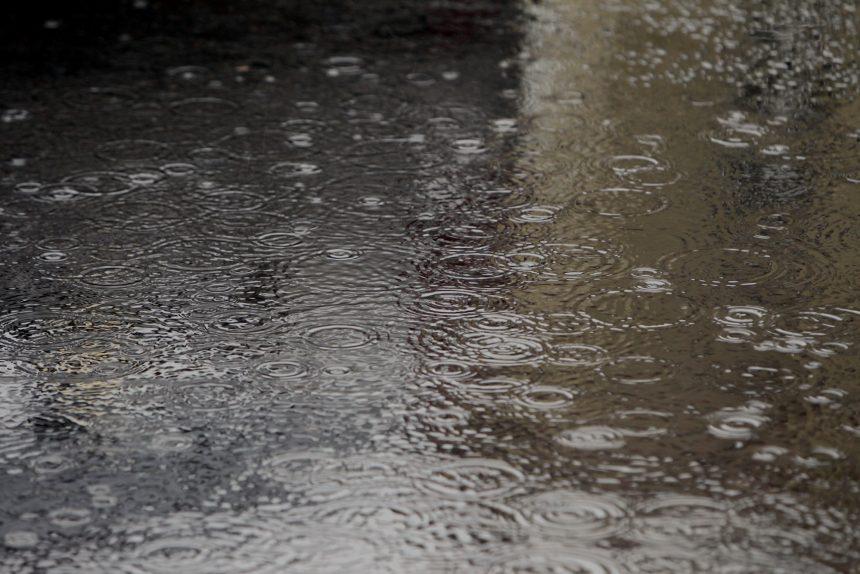 дождь погода осадки лужи вода