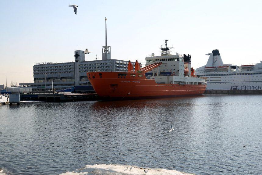 морской вокзал гавань научное судно академик трёшников