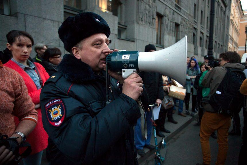 народный сход за отставку путина движение весна полиция полицейский