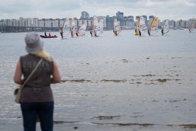 серфинг водный фестиваль финский залив