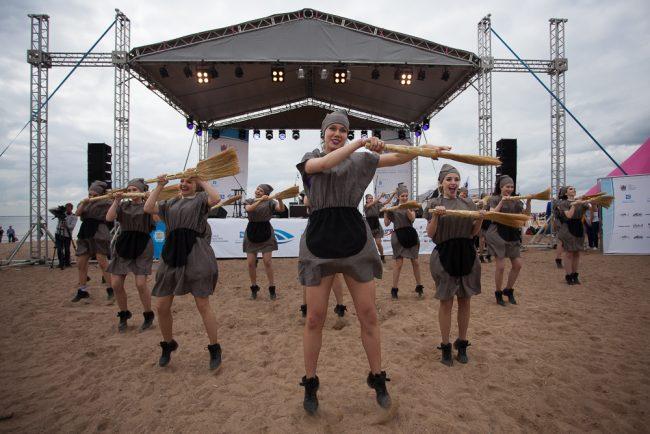 водный фестиваль парк 300-летия