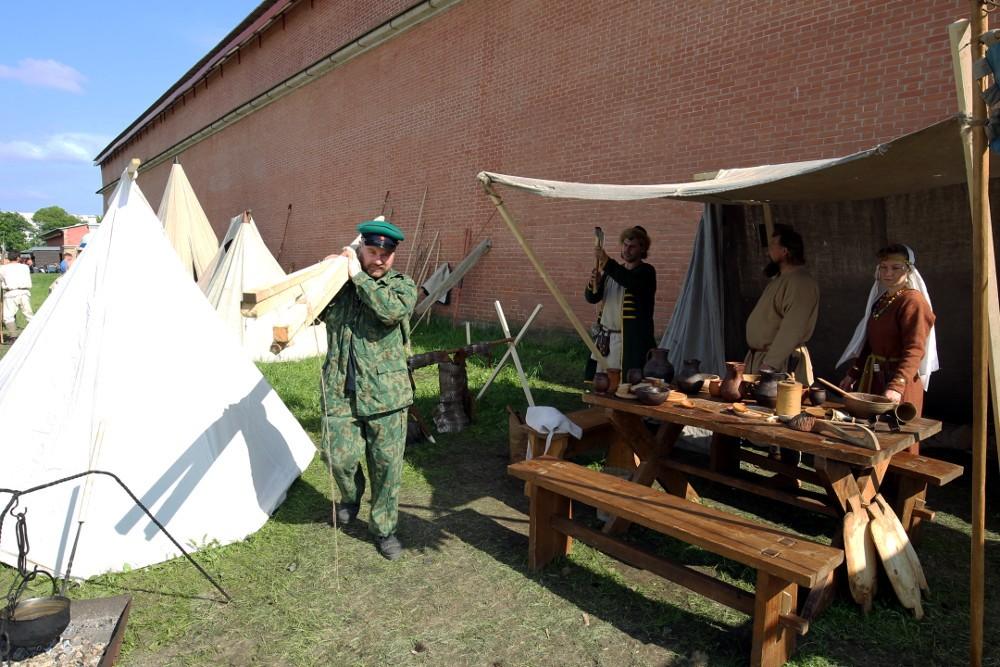 фестиваль тайны норвежских викингов пляж петропавловской крепости средневековье реконструкторы