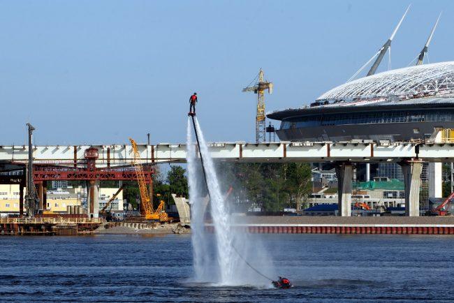 Молодёжный водный фестиваль стадион на крестовском острове