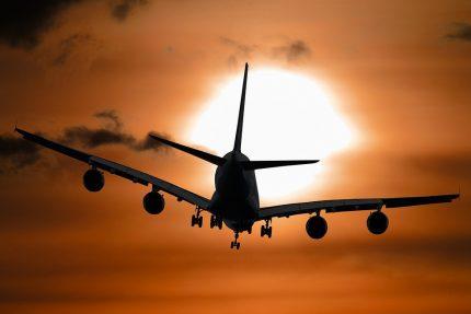 самолет, туризм, небо