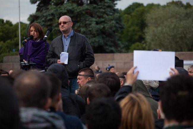 митинг против моста кадырова максим резник наталья грязневич