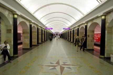 станция метрополитена адмиралтейская