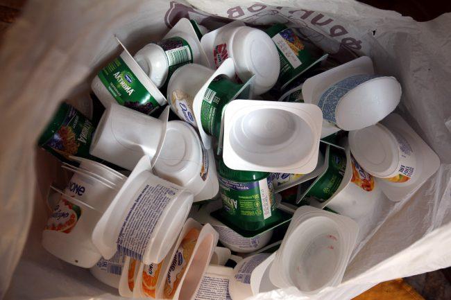 упаковка вторсырьё полистирол PS мусор отходы раздельный сбор переработка экология