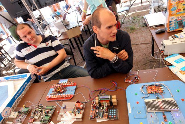 фестиваль науки и технологий geek picnic мини-компьютеры