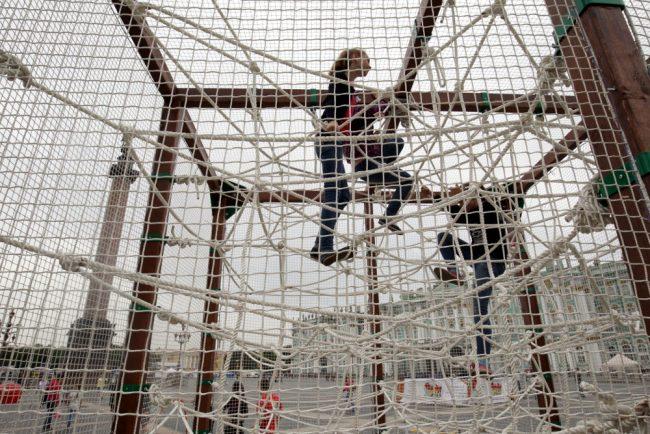 фестиваль экстремального спорта и молодёжных субкультур дворцовая площадь верёвочный городок