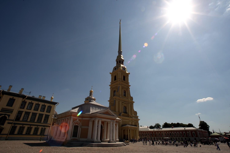 Петербург Петропавловская крепость собор