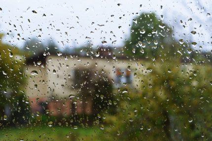 дождь, капли дождя